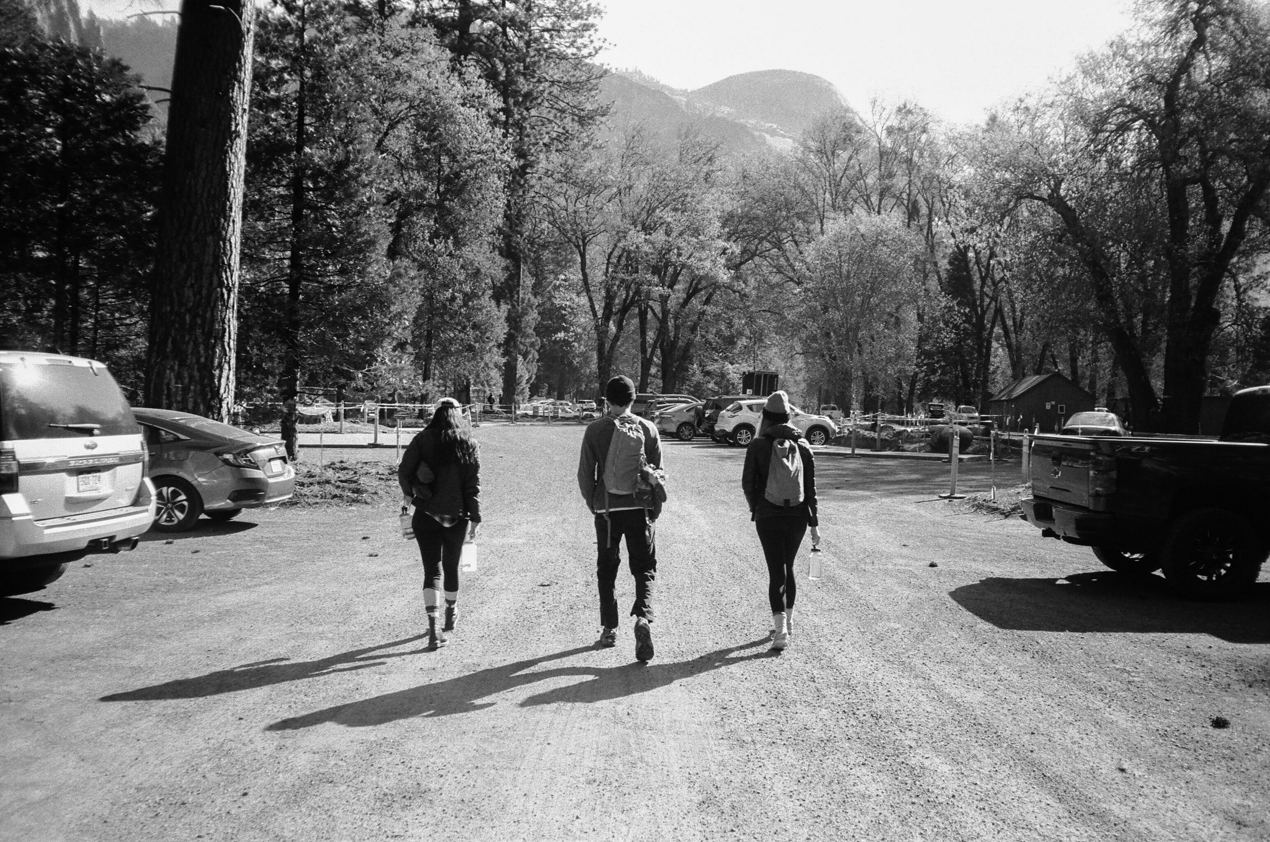 hiking trails in yosemite national park