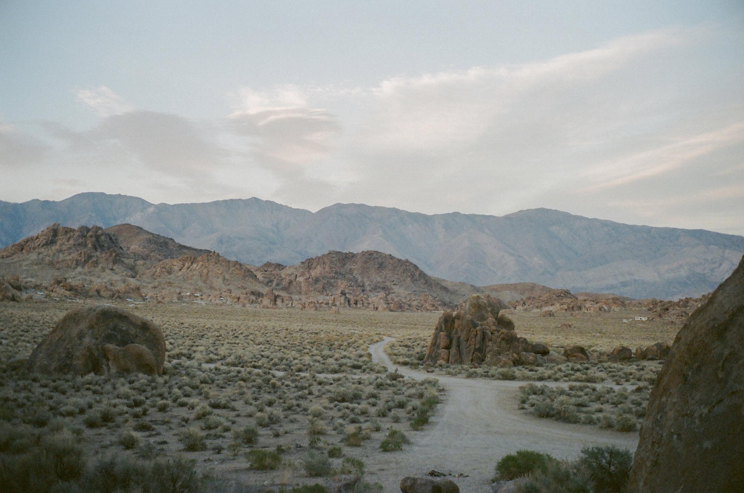 Eastern Sierras mountains