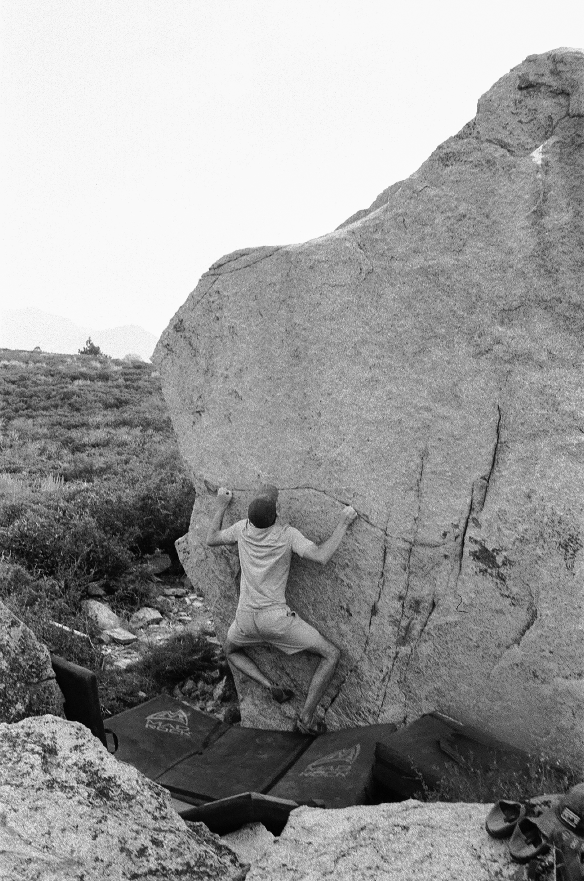 mammoth lakes bouldering
