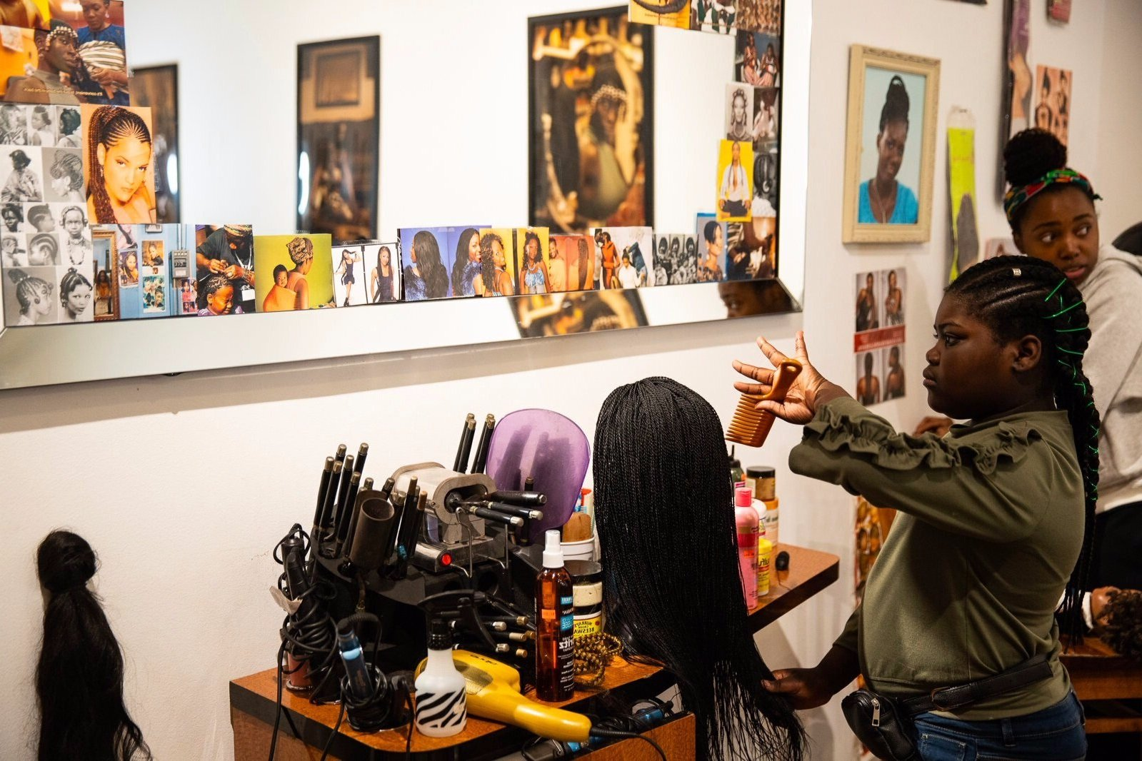 ELLE: The Hair Appointment - Get some serious hair inspo and celebrate the beauty of black hair styling with Sunday School Creative.Written by George Driver