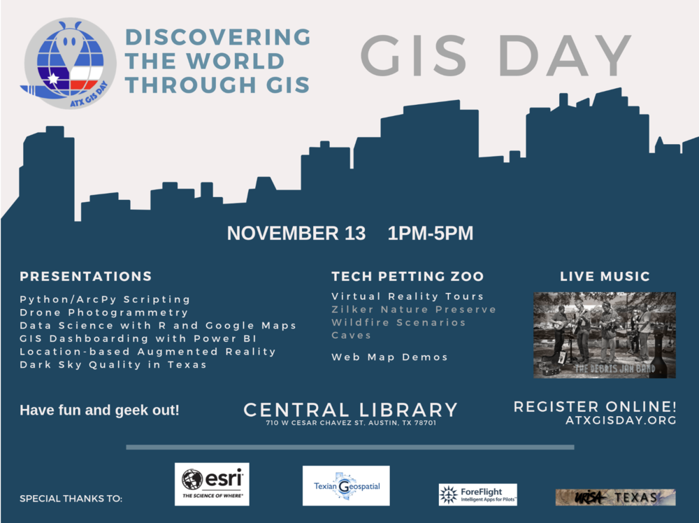 #FunDataFriday – ATX GIS Day