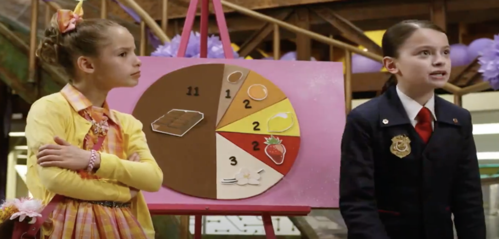 Introduction to Pie Charts with  Odd Squad