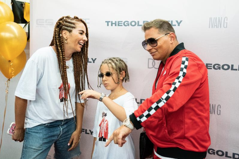 11 Year Old Scott Storch-Produced Golden Fly (The Drip God Ivan G) Celebrates The Official Launch Of His Clothing Brand DUO With Bhad Bhabie, Trinidad James, Fatboy SSE, Eric Bellinger and More at the DOPE Boutique On Fairfax