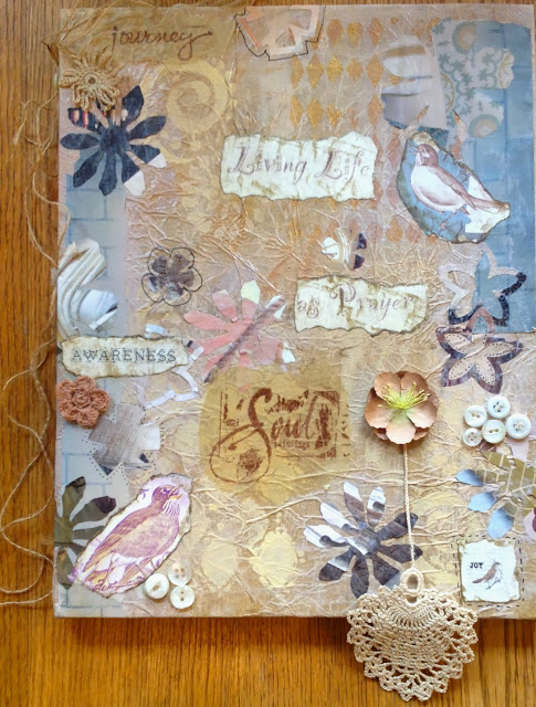 Living Life as Prayer Canvas by Connie Denninger
