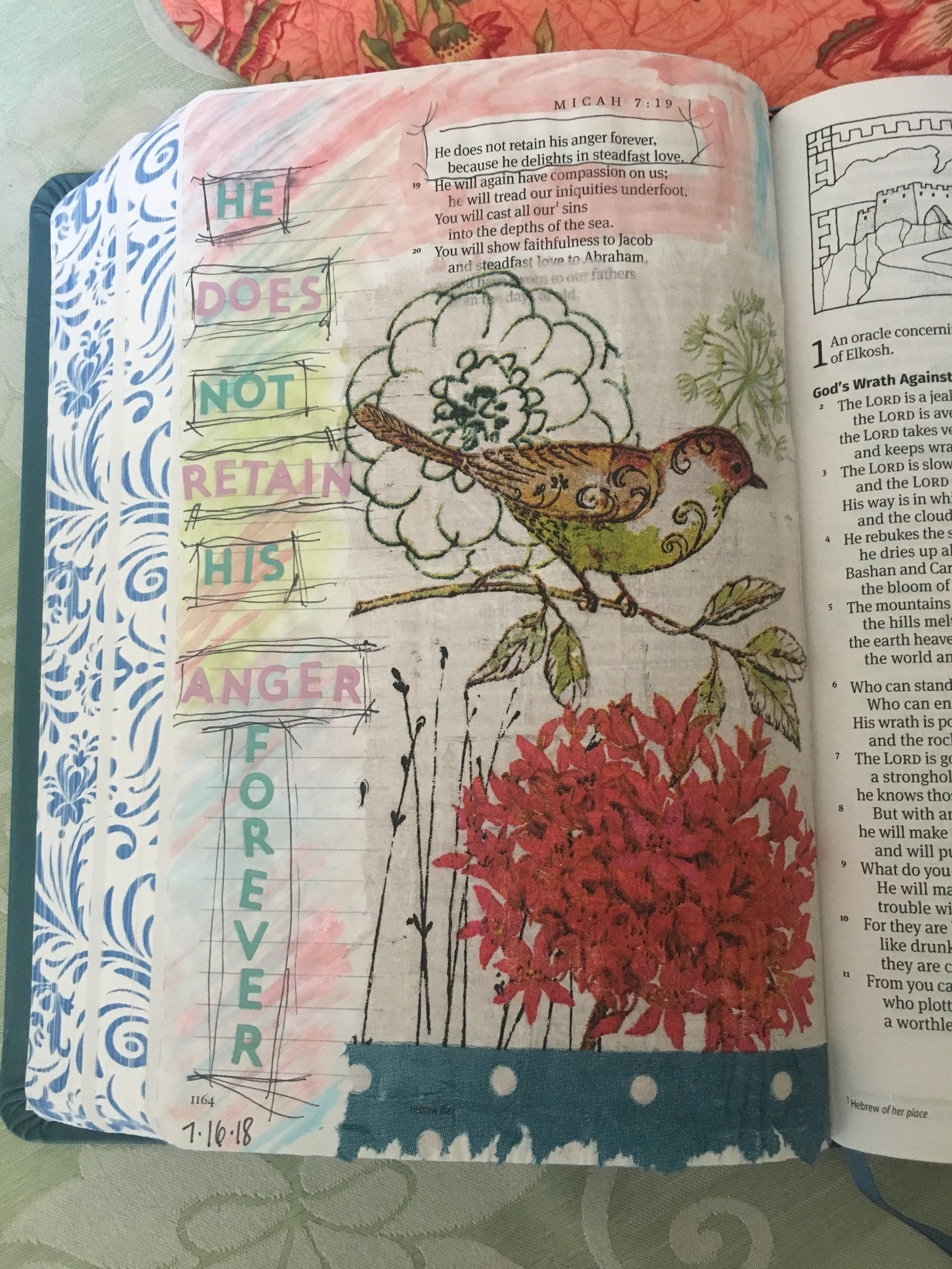 Napkins in My Bible- Connie Denninger