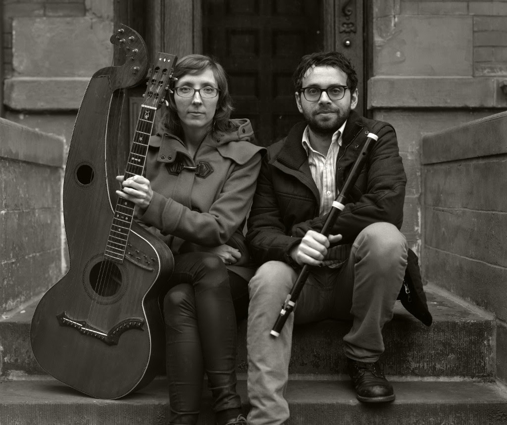 Mary Halvorson and Robbie Lee Credit: Amy Mills