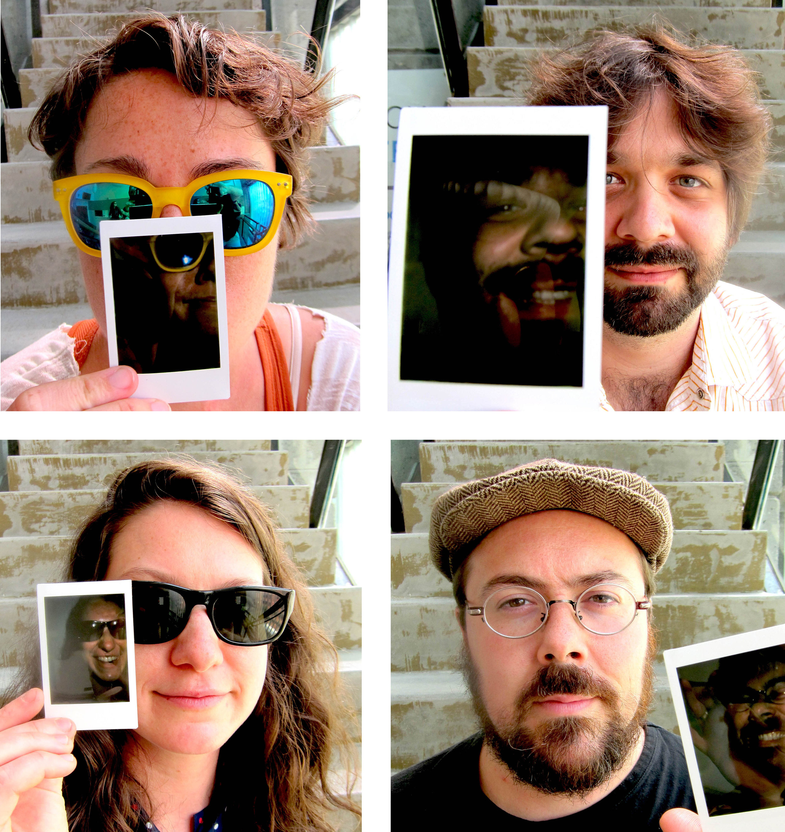 The Hands Free  (clockwise from top left):  Caroline Shaw, James Moore, Nathan Koci, Eleanore Oppenheim