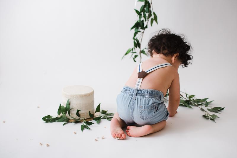 Studio Milestone Baby Portrait Photography - Peoria, Arizona | Lauren Iwen Photography