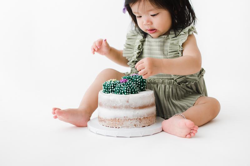 Baby Milestone Session, Sitter Session, Smash Cake Session - Peoria, Arizona | Lauren Iwen Photography