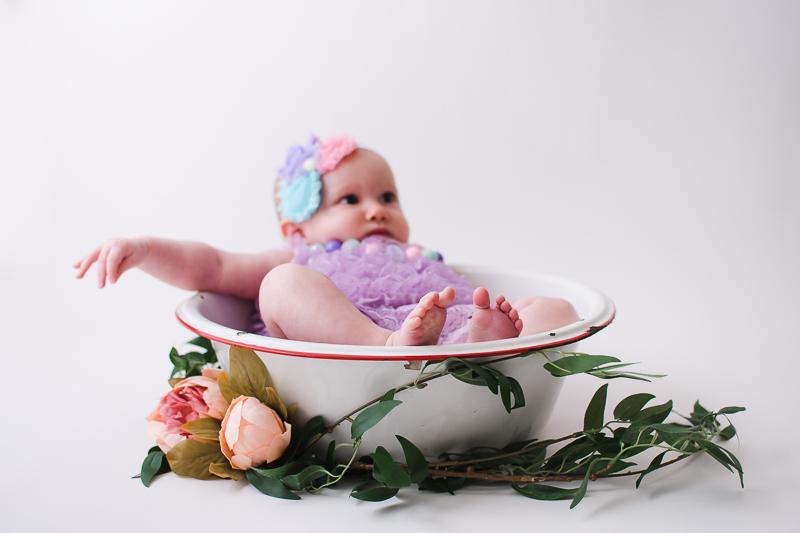 Baby Milestone Session, Sitter Session - Peoria, Arizona | Lauren Iwen Photography