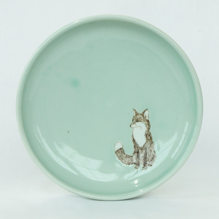 HA-SKT Ceramics fox plate.jpg