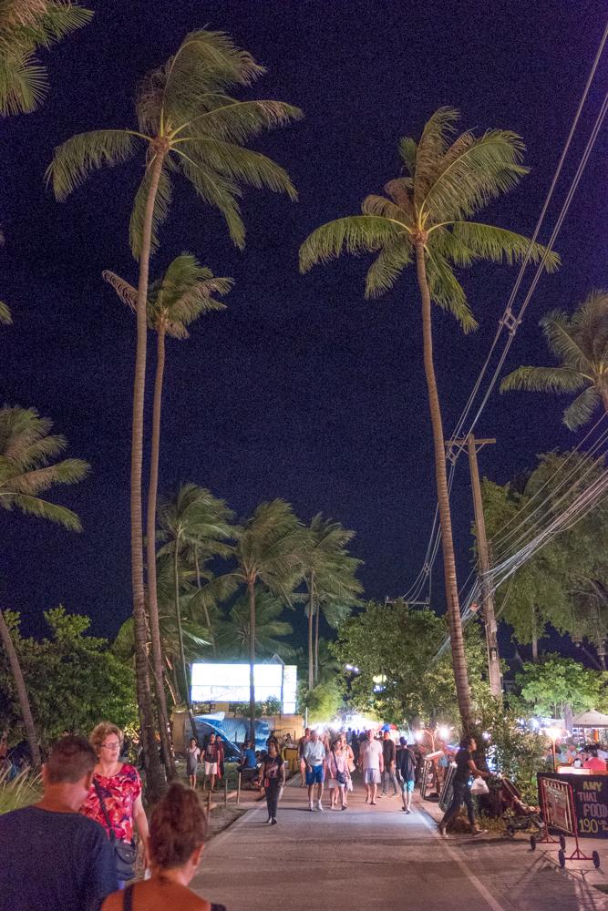 Fisherman's Village Market at Night