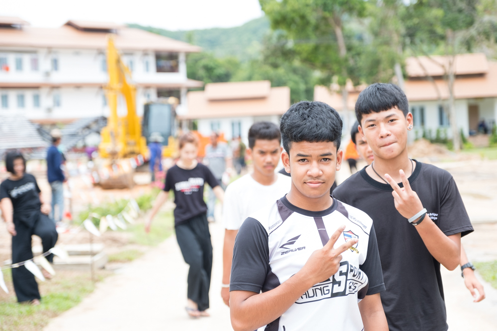 Two Thai Students