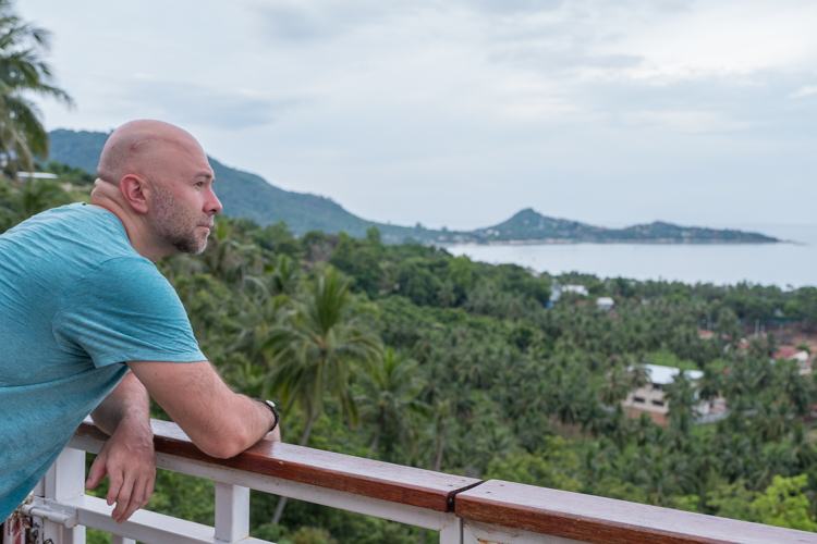 Just taking in the view of Koh Samui from Lamai Viewpoint. This was my last day on Koh Samui. #MixedFeelings