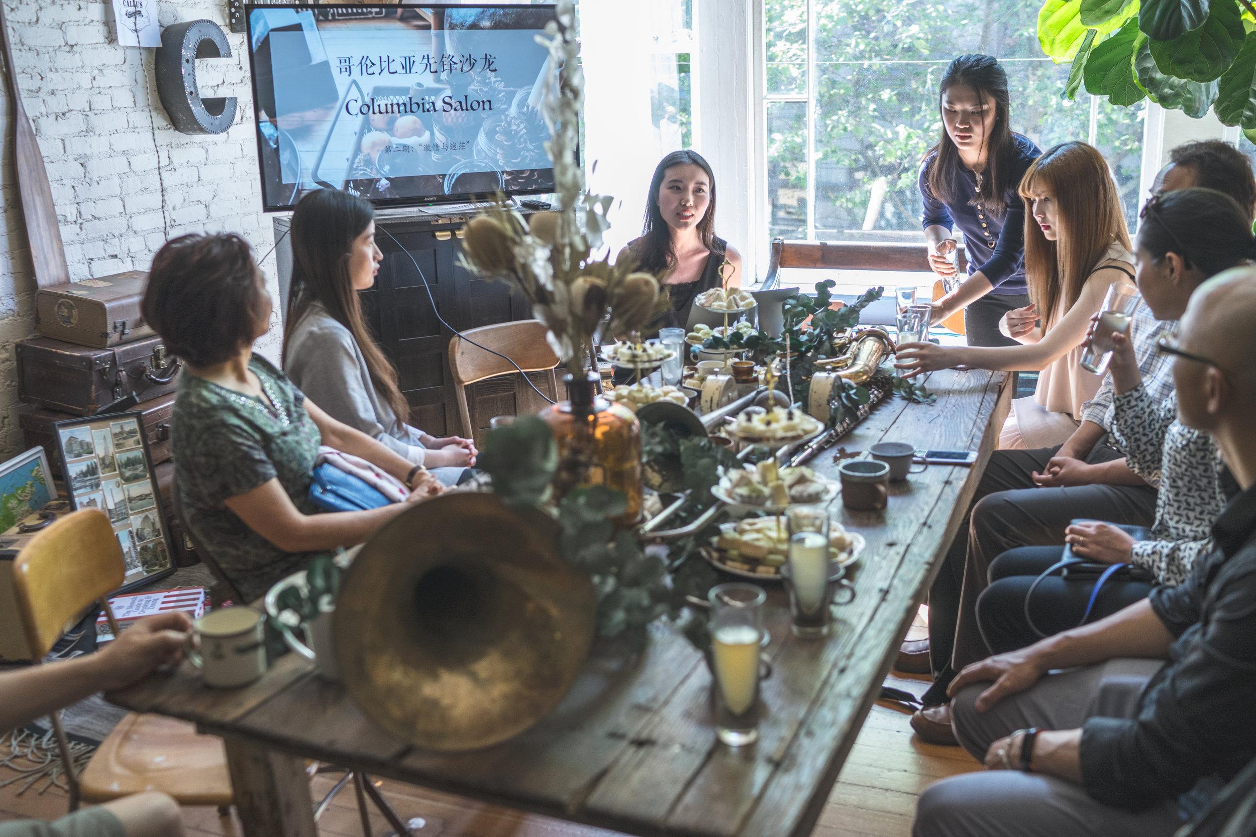 哥伦比亚先锋沙龙 - 哥伦比亚先锋沙龙主要以艺术和文化为主题,邀请相关领域的专家进行内容分享,营造轻松愉快的活动氛围。我们希望加强PNU联盟成员之间的粘性,提供环境良好的社交场所,帮助PNU增加人气,扩大人际网络,增进关系。