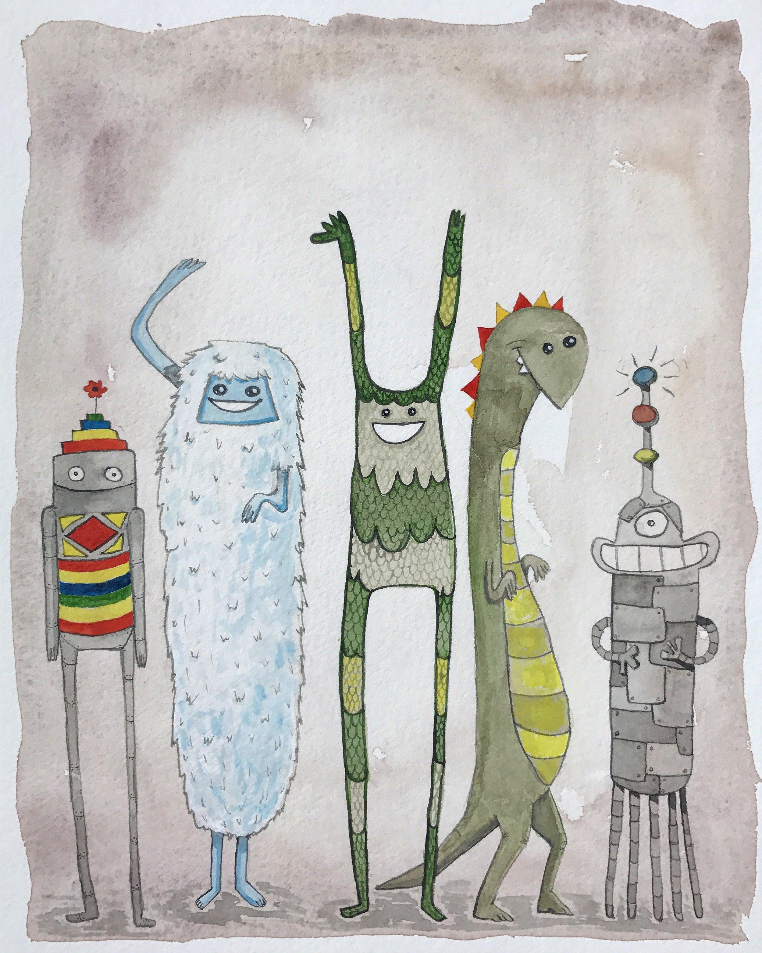 Robot Yeti Dino