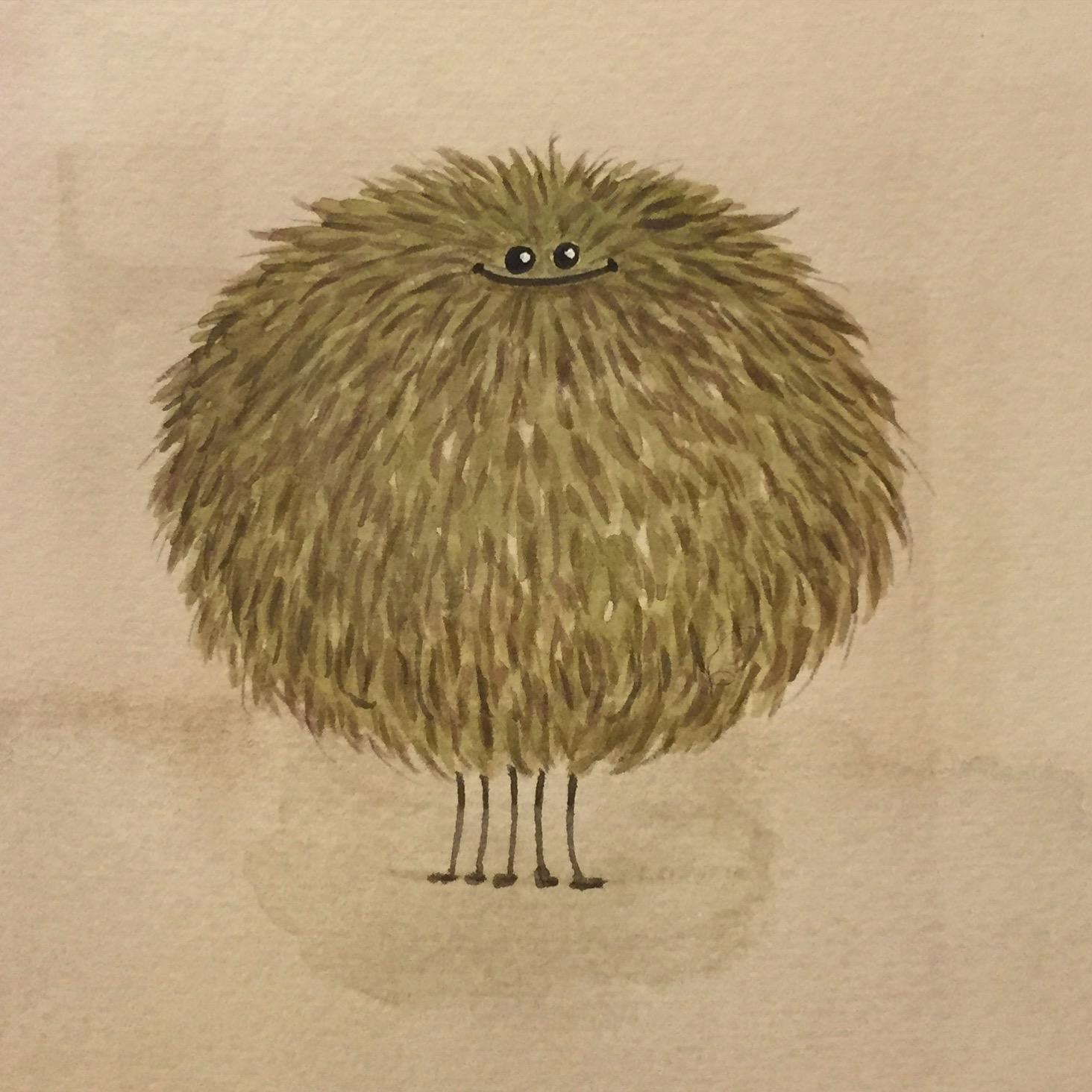 Poofy Argus