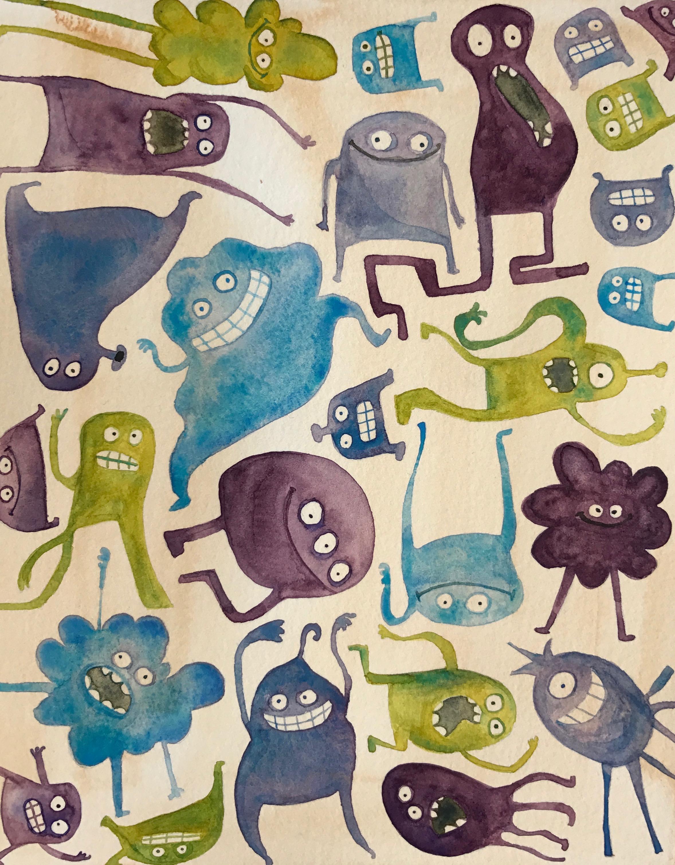 Critter pattern beta