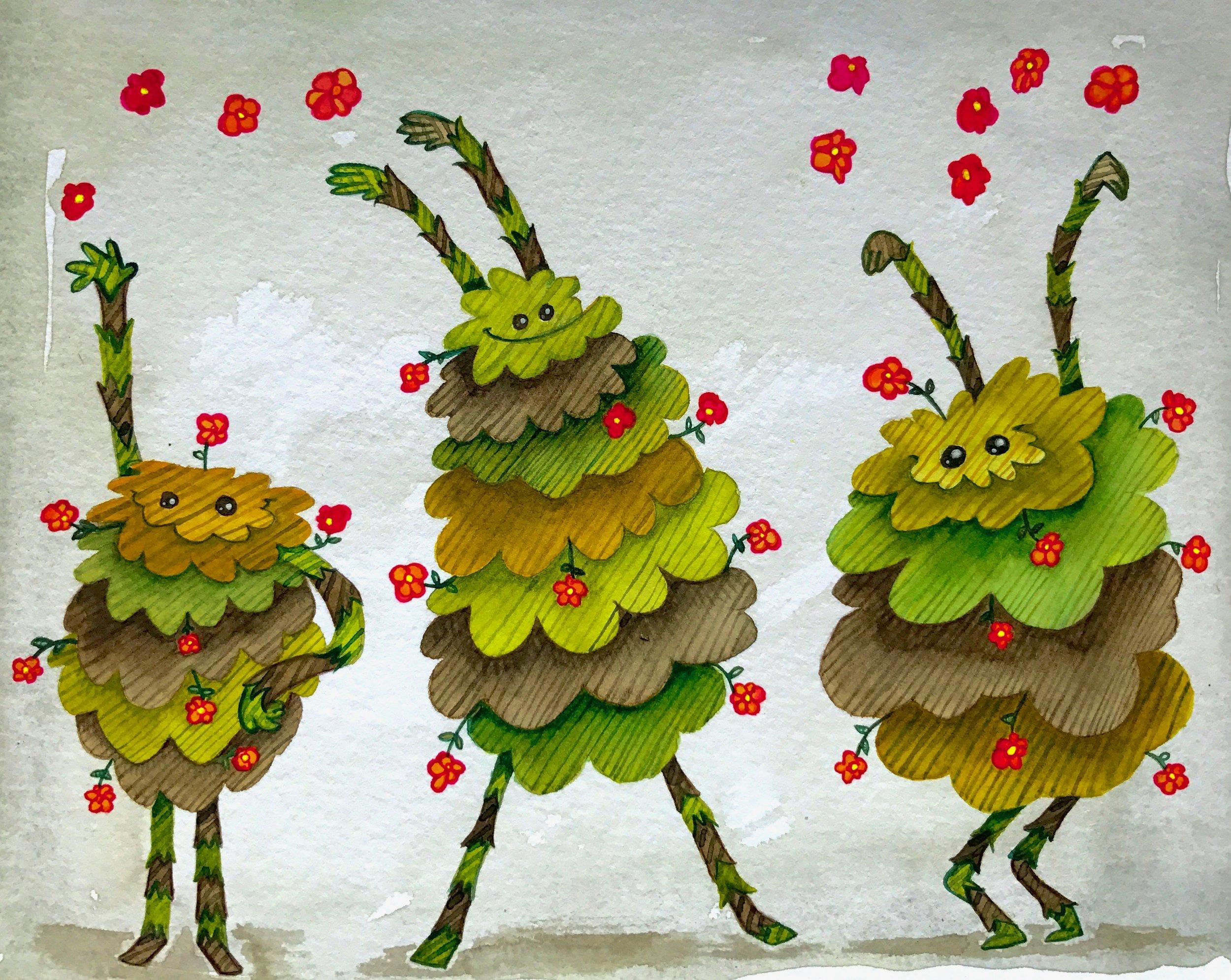 Flower monsters