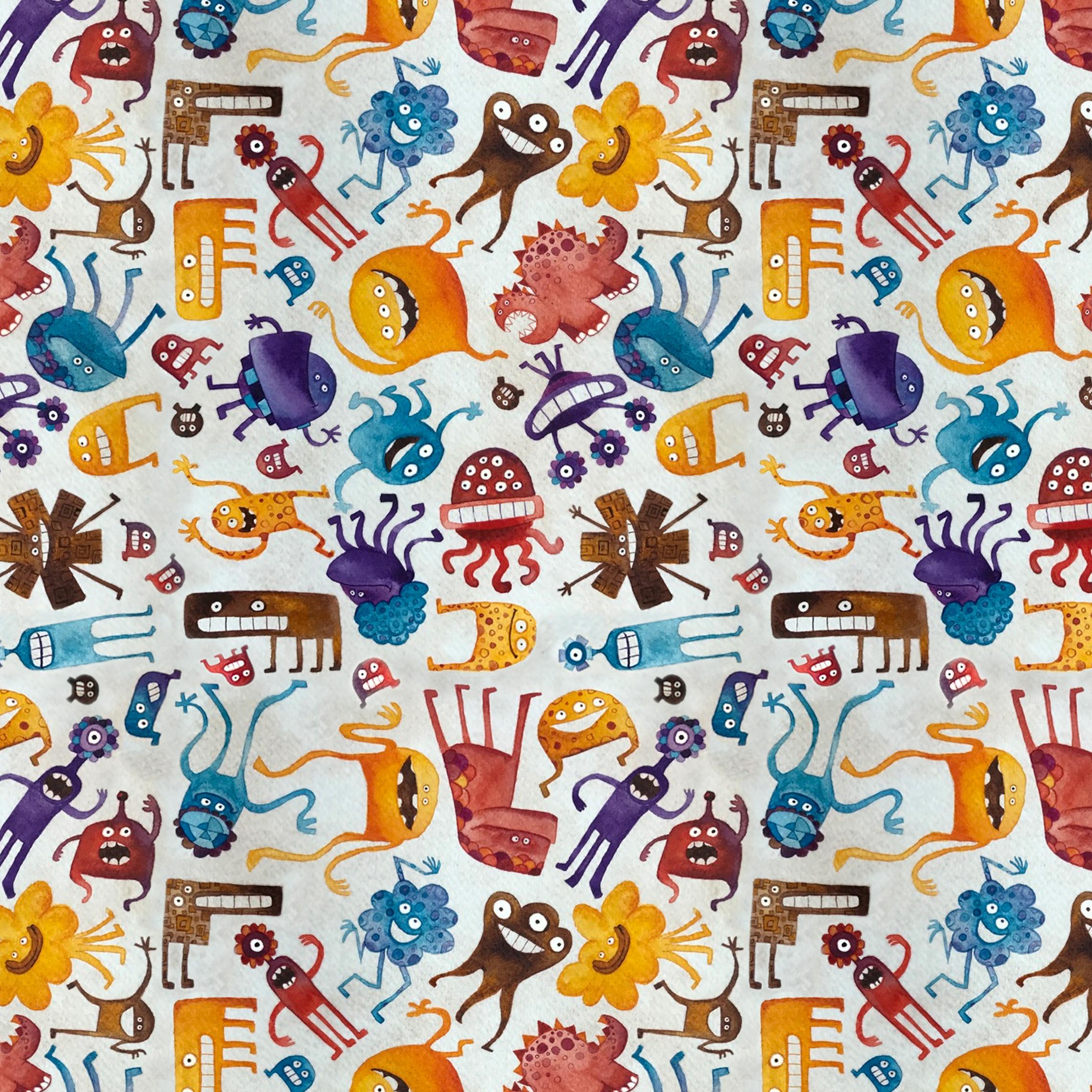 Critter pattern 3