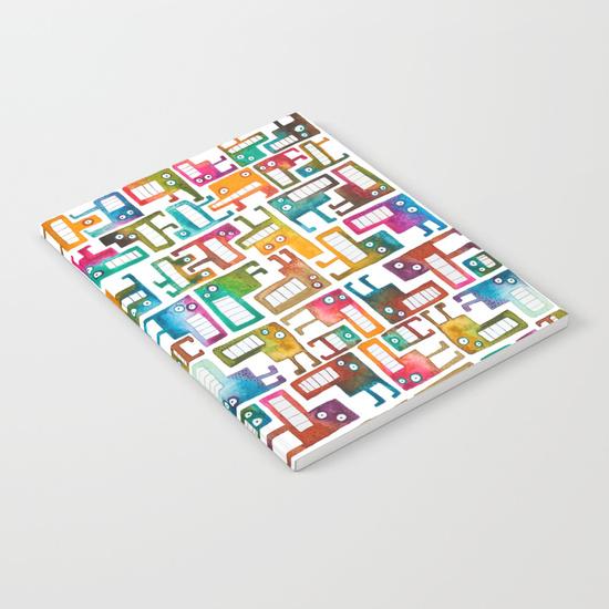Tetris Monster Notebook