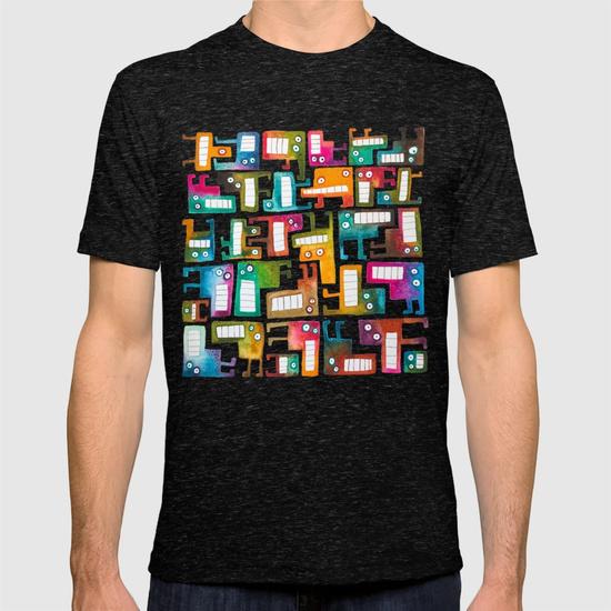 Tetris Monsters T-shirt