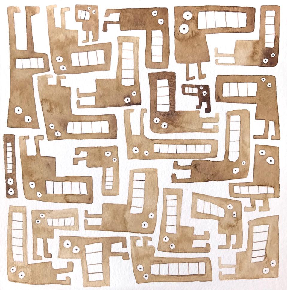 Tetris Monsters #1