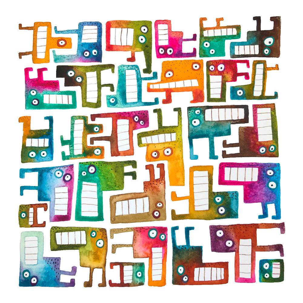 Tetris Monsters #4