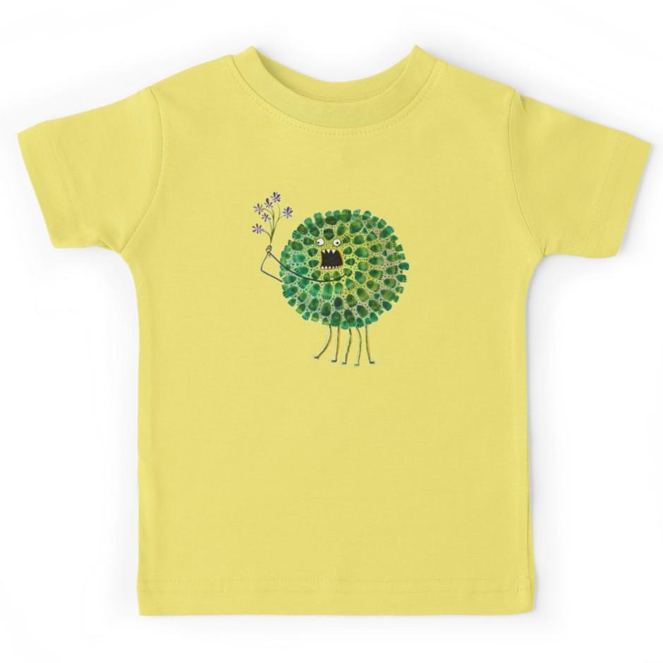Poofy Plactus Kids T-shirt