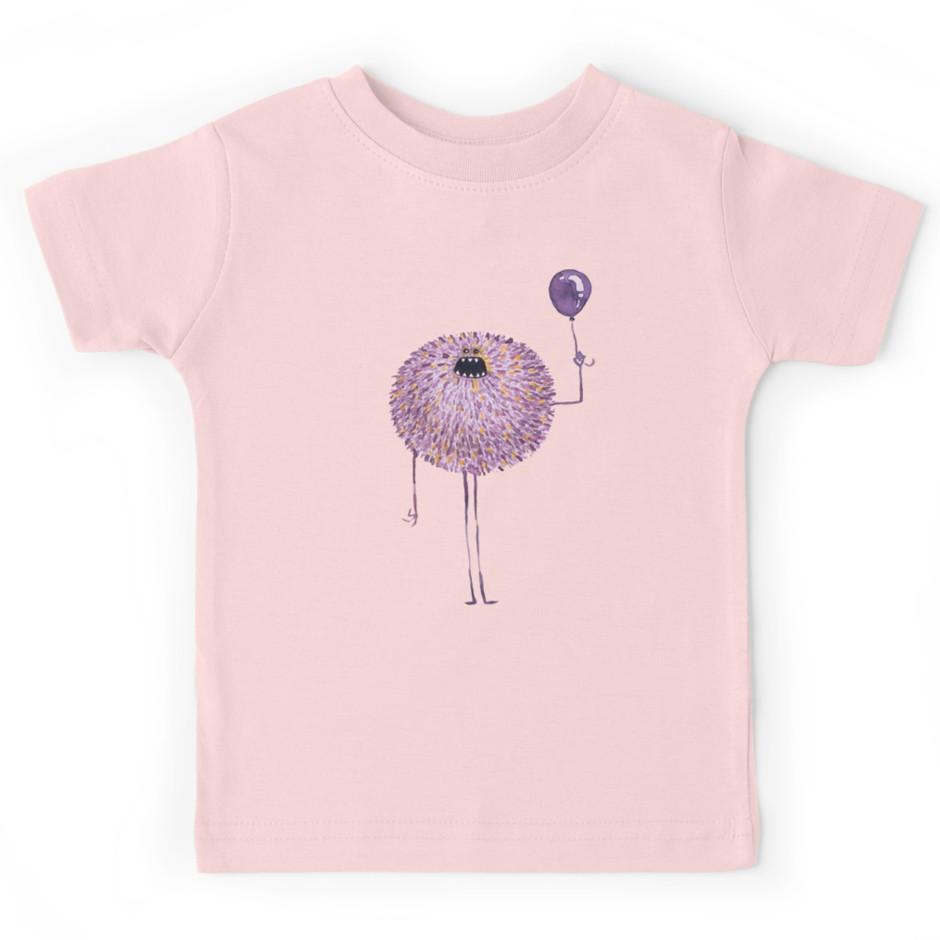 Poofy Francis Kids T-Shirt