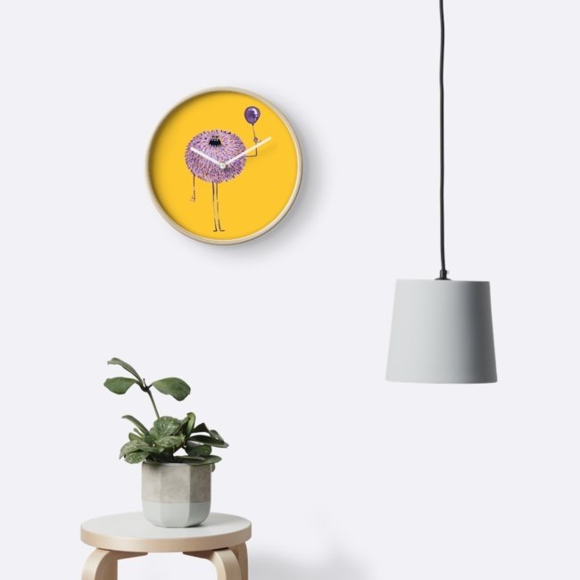 Poofy Francis Wall Clock