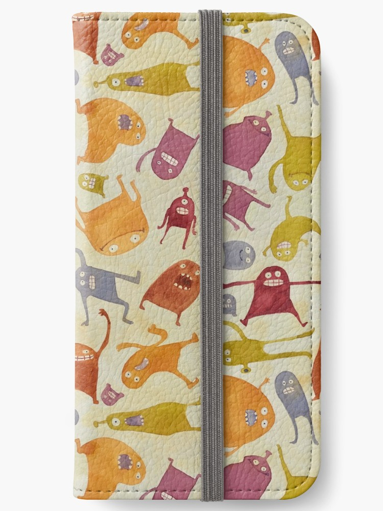 Watercolor Critter Pattern iPhone 6 case