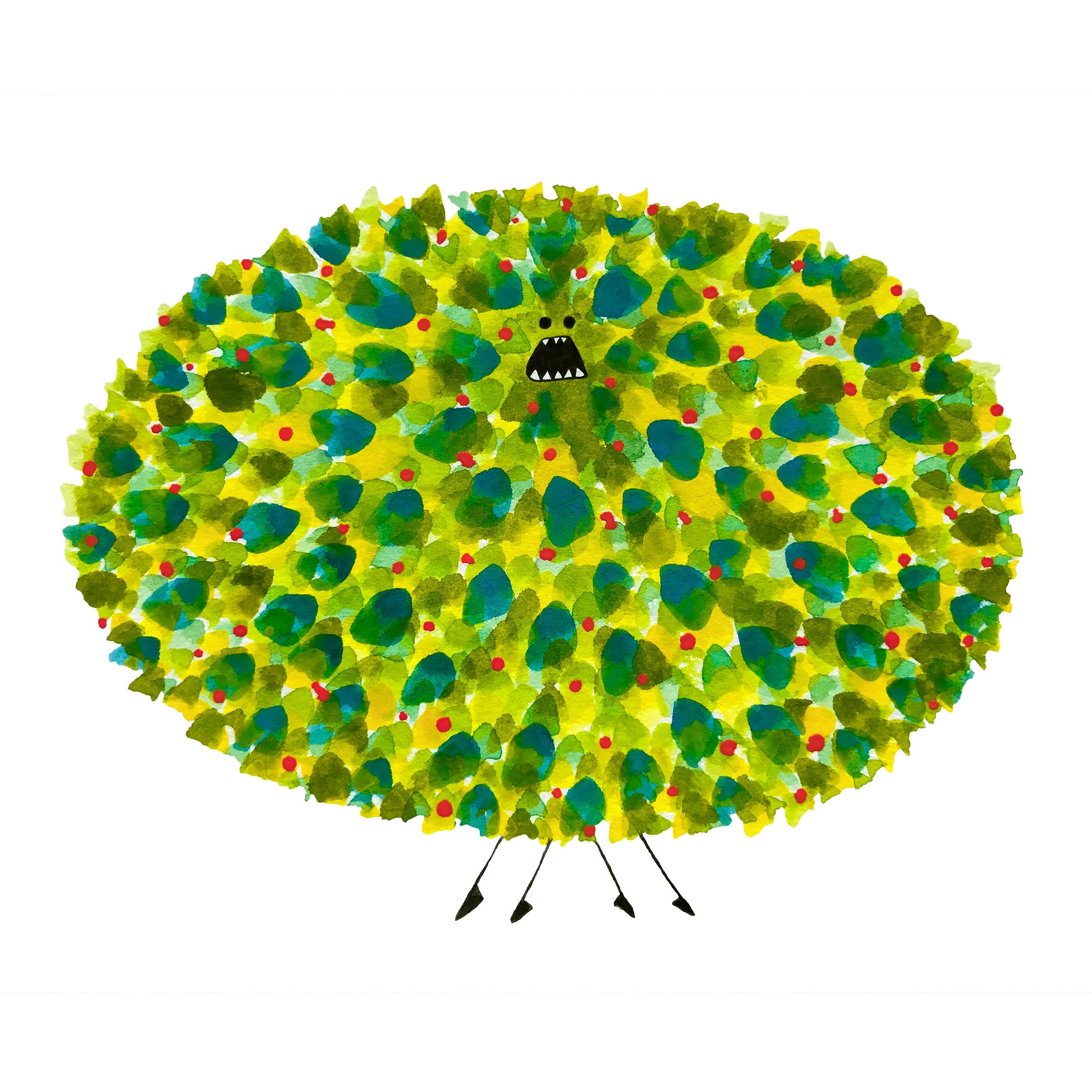 Poofy Pineapple