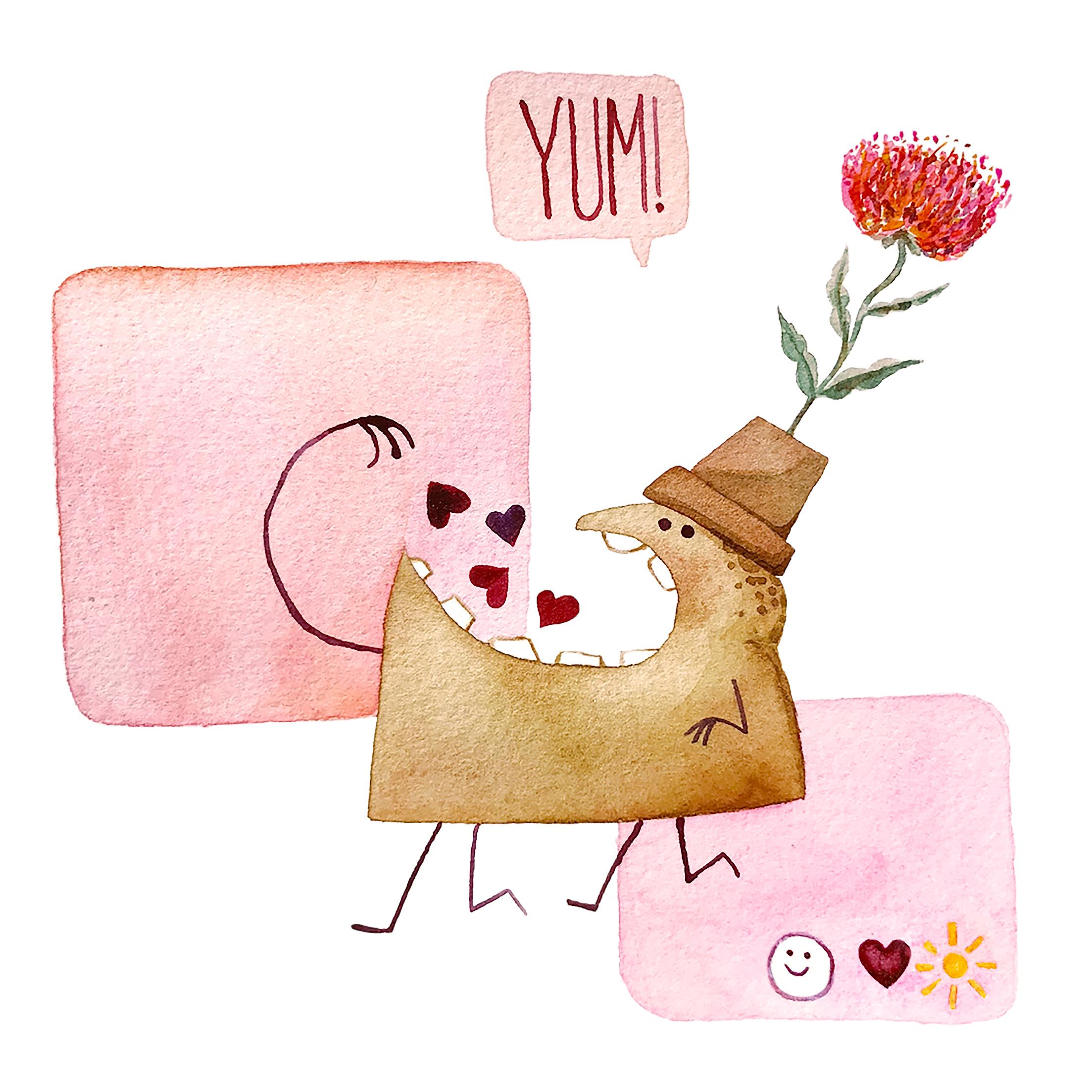 Underbite Valentine