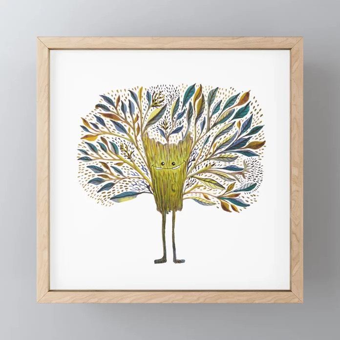 Poofy Tree Fluff Print