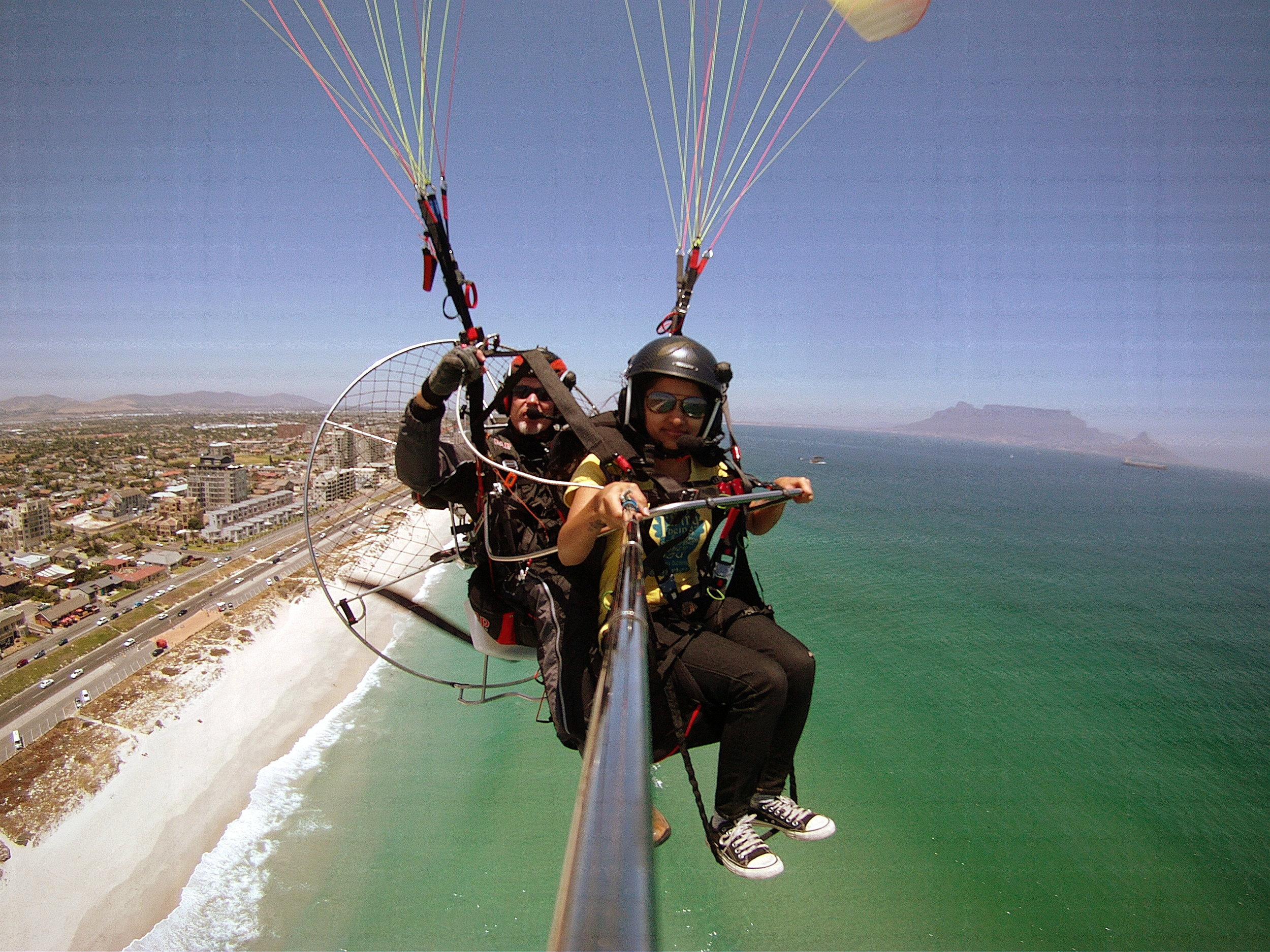 Paramotoring @ 650 ft above sea level