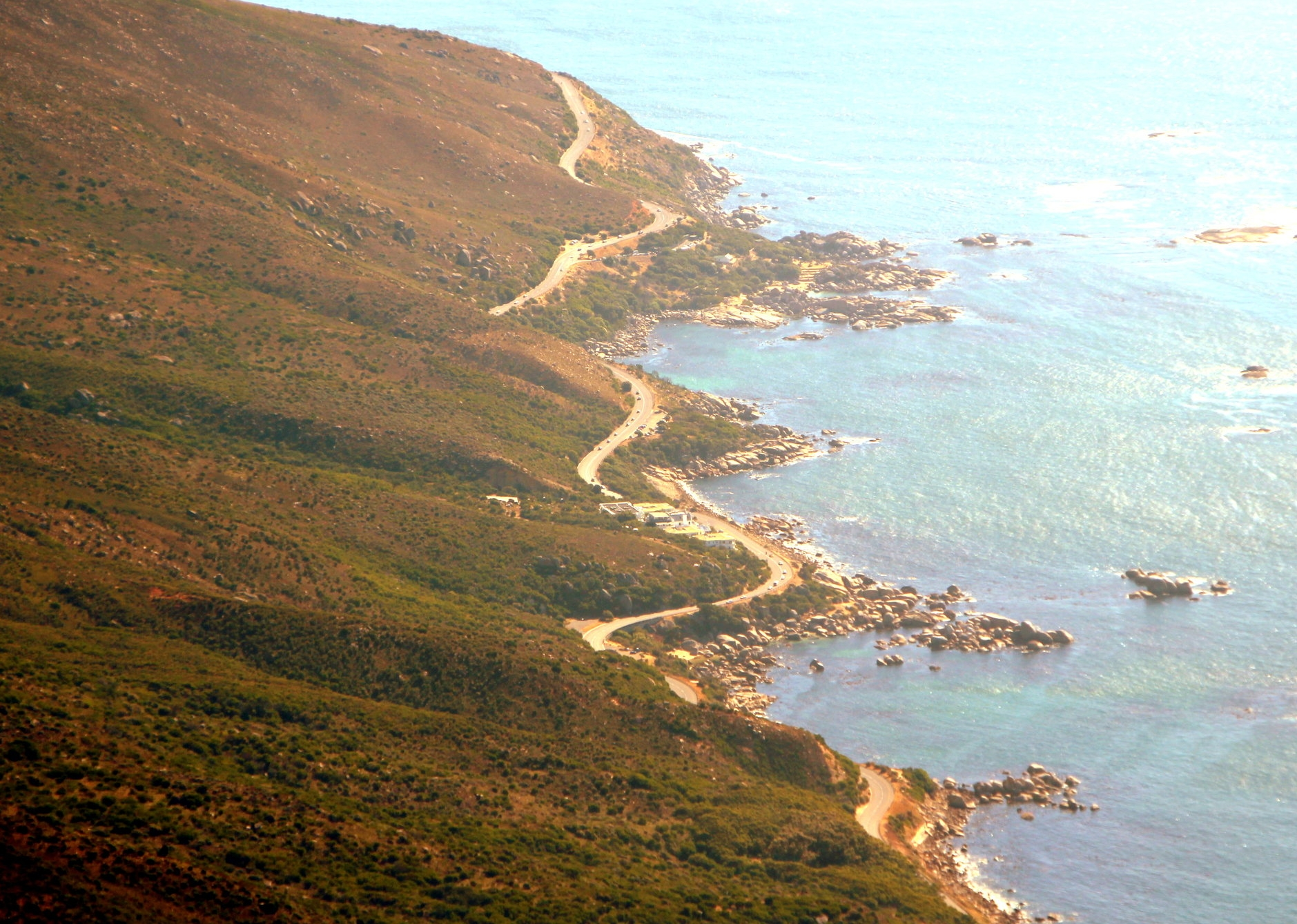 Winding Roads that run parallel to the sea