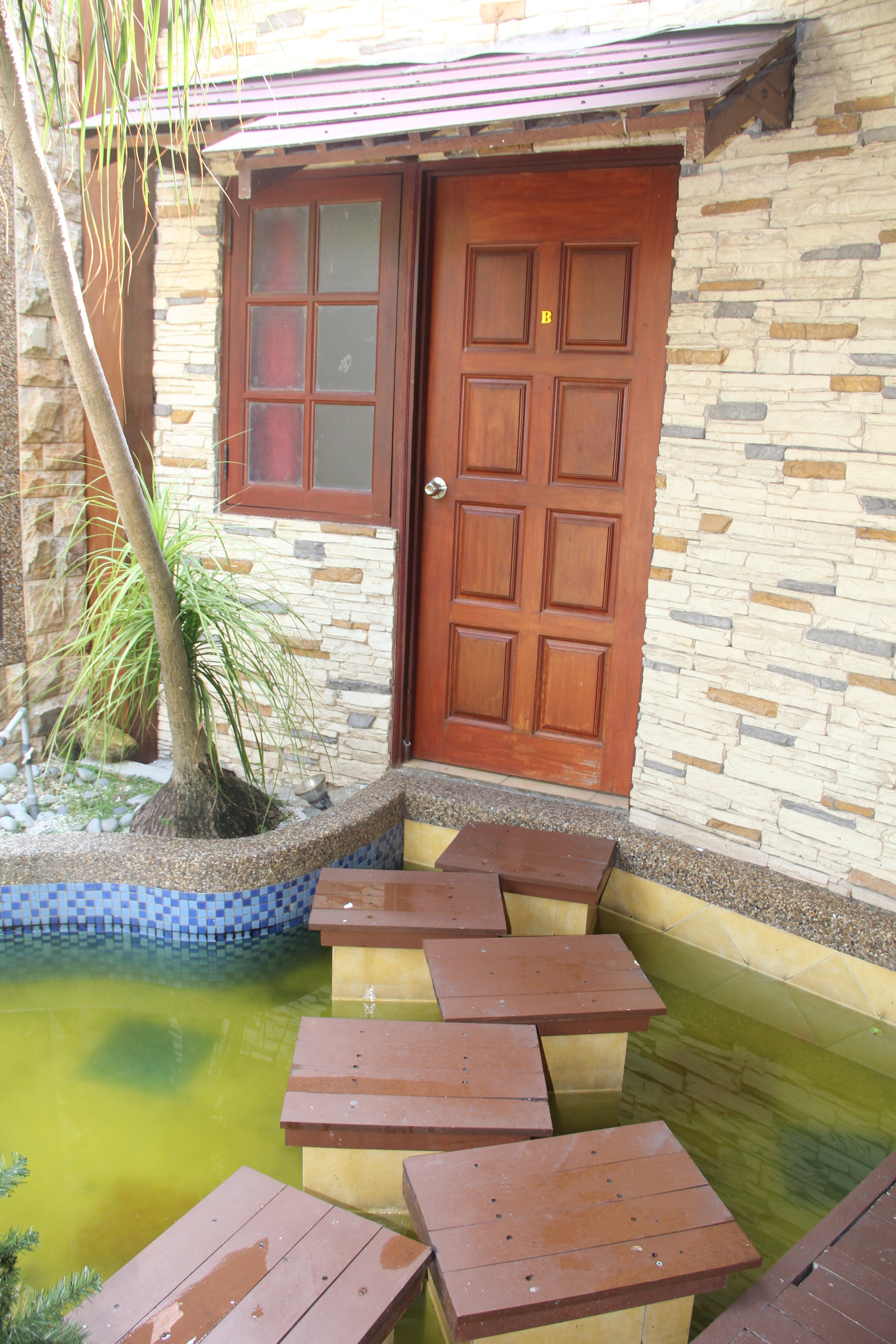 Way to our room @ Baan Talay Homestay, Penang
