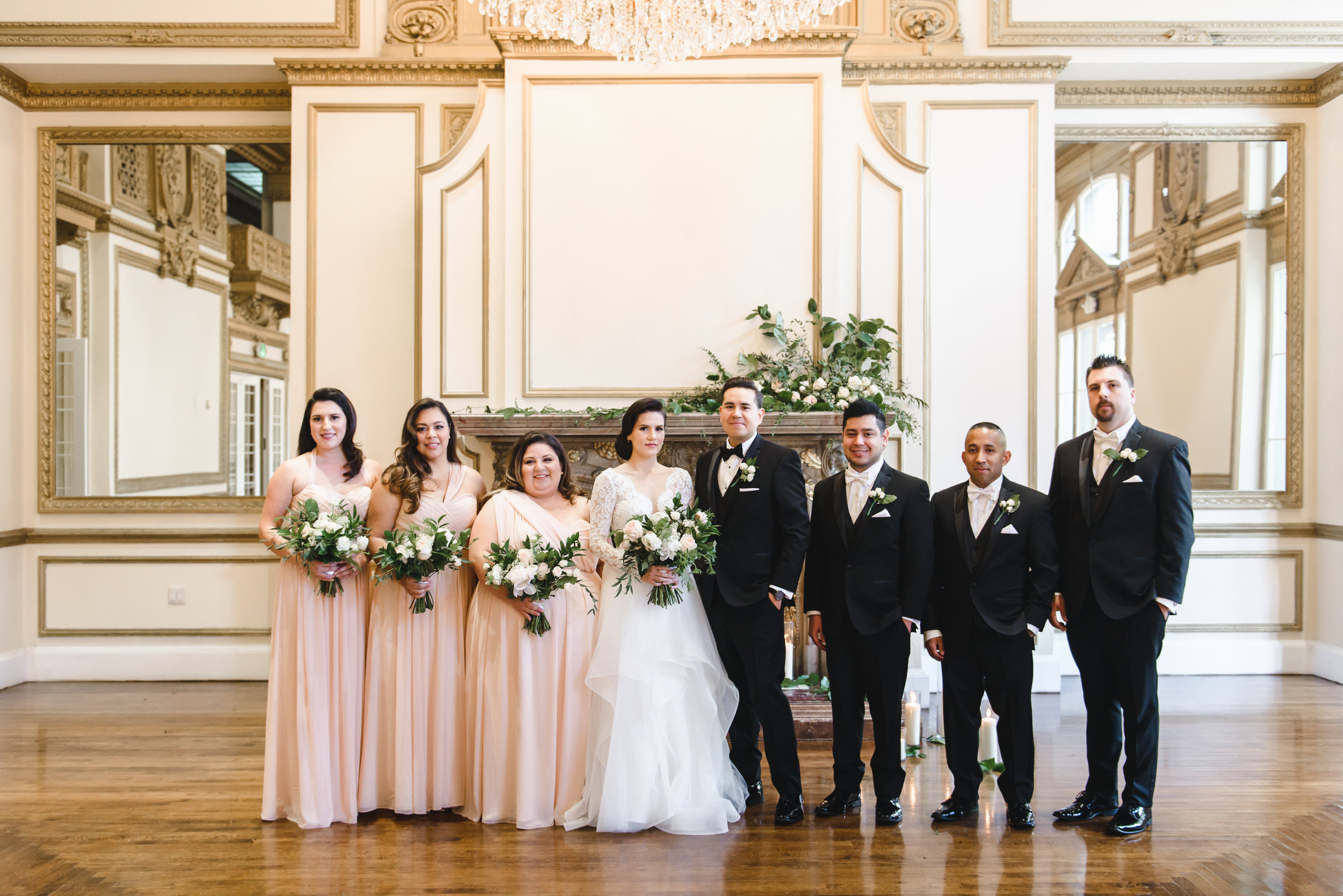 blush bridesmaids in los angeles #LRQCfloral.jpg