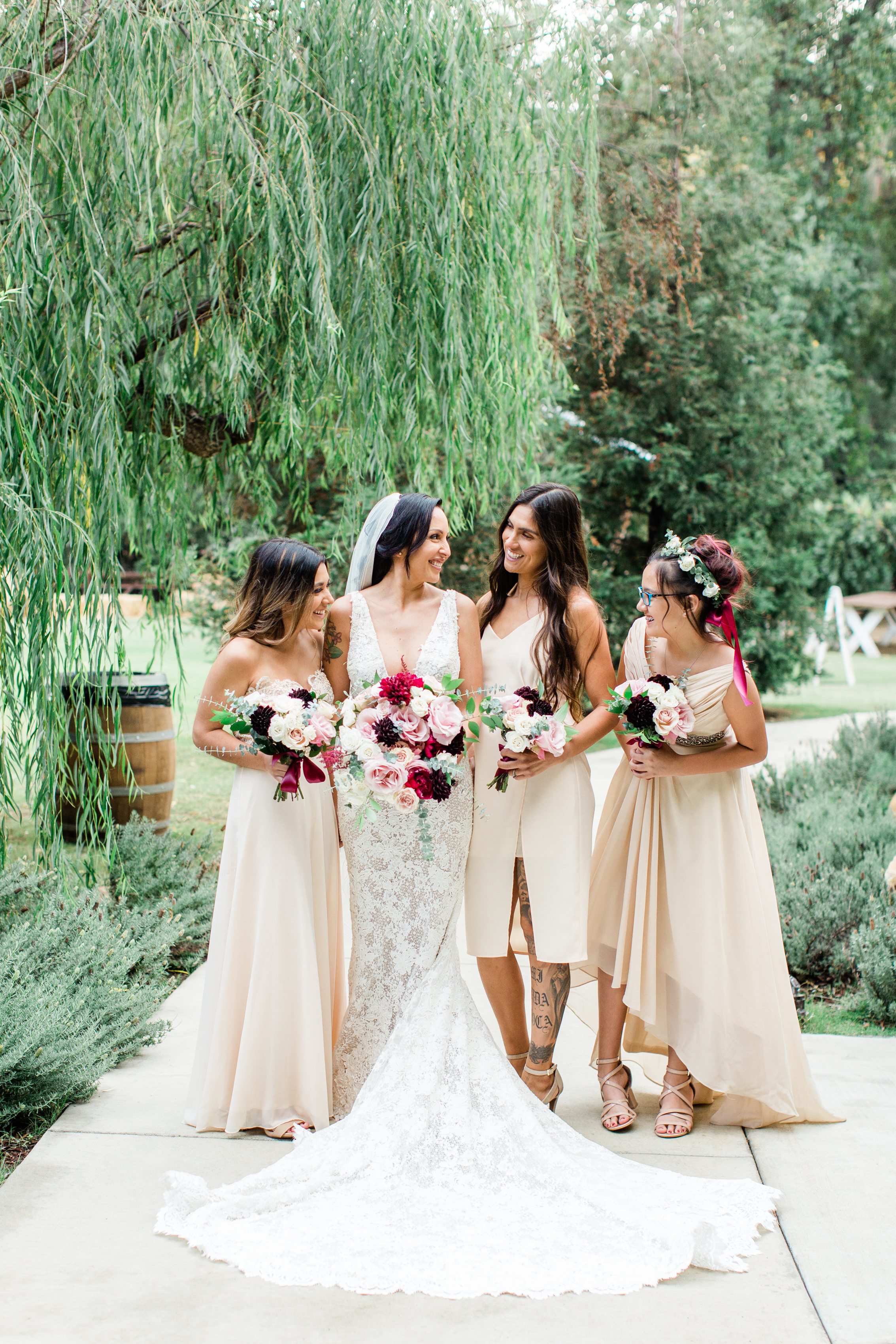 blush and burgandy bridesmaids bouquets .jpg