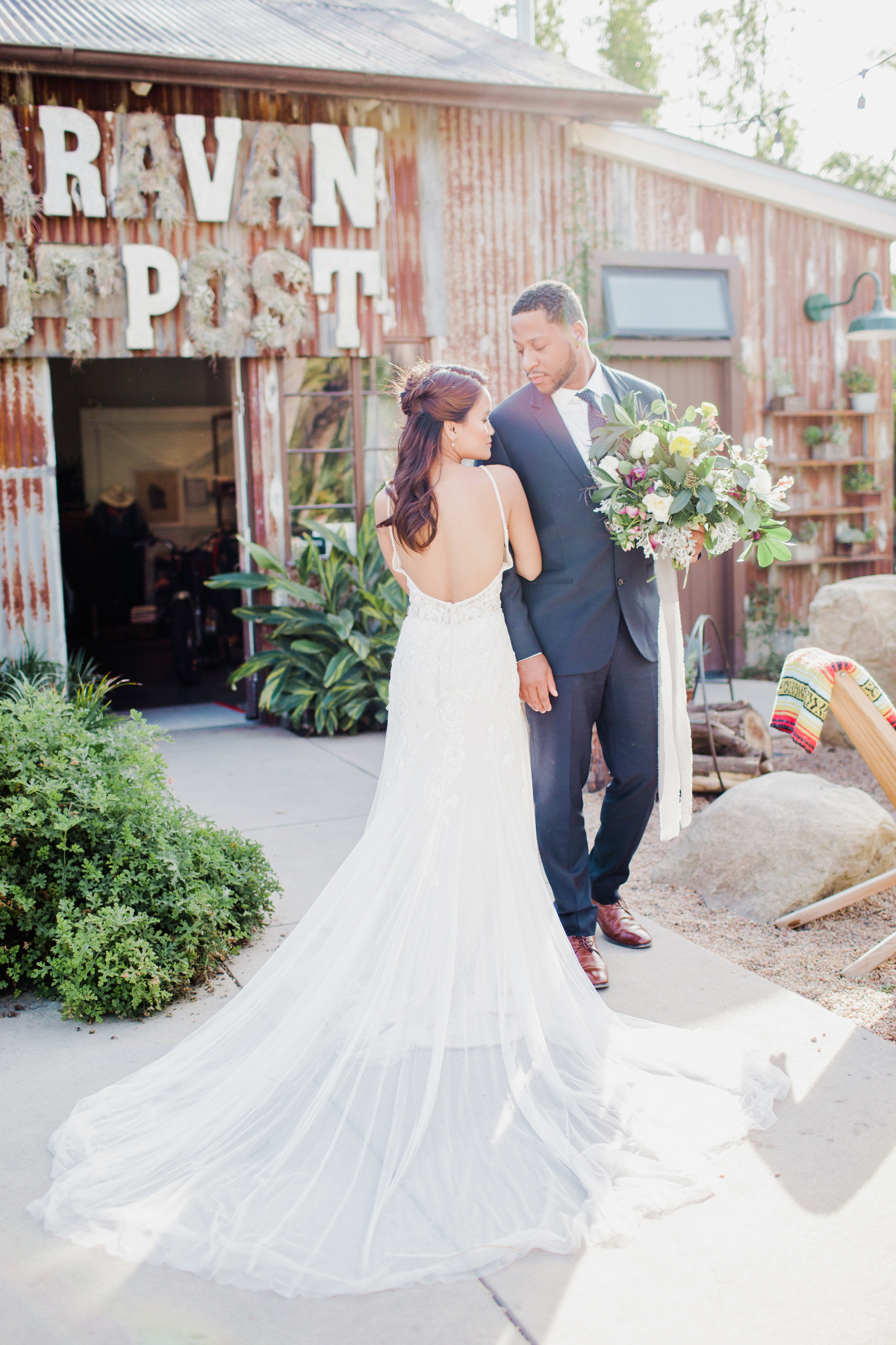 Ojai CAlifornia Elopement with purple and yellow bouquet.jpg