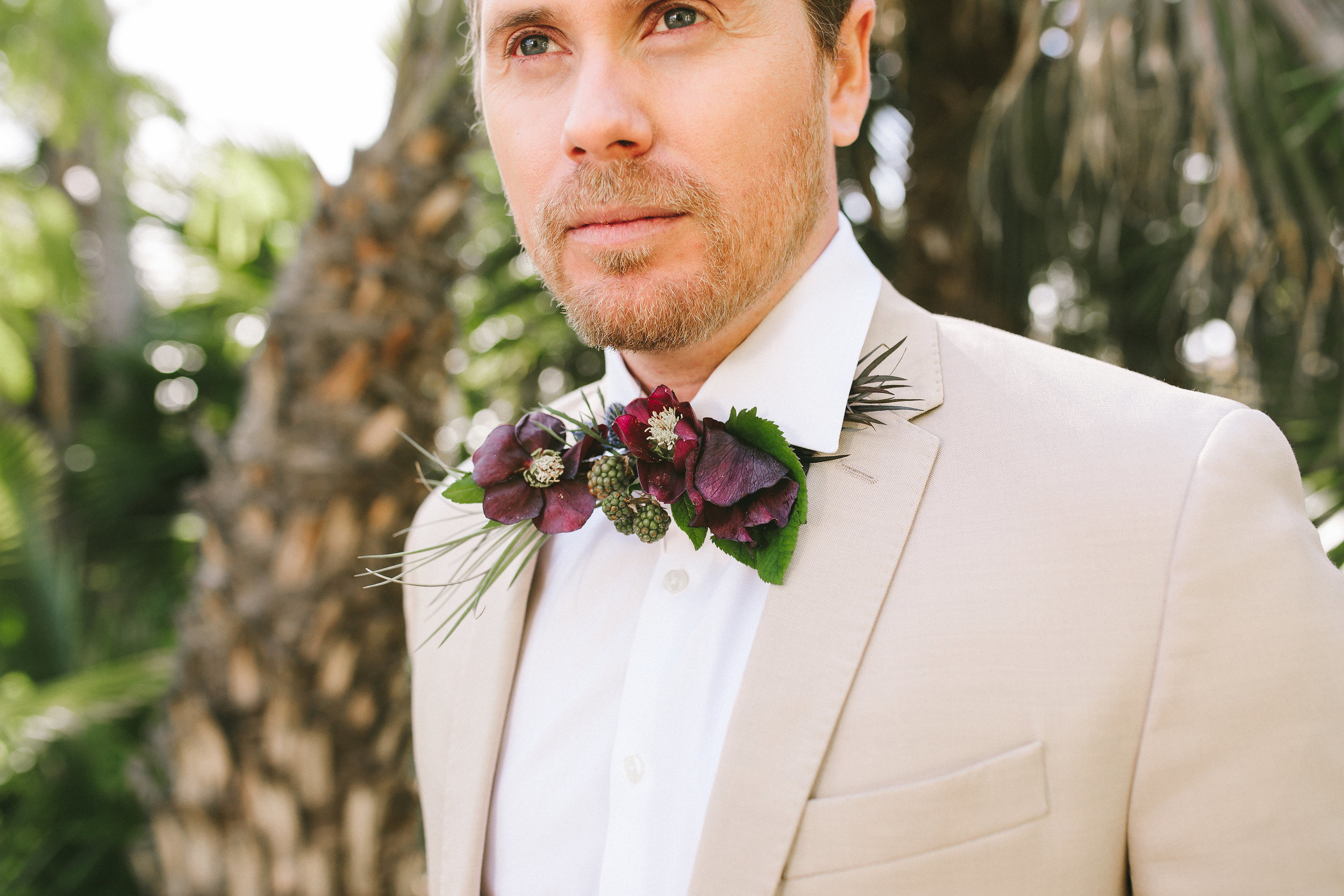 floral bow tie made of real flowers.jpg