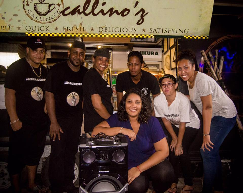 The Word Up Team & the Callino'z Team!