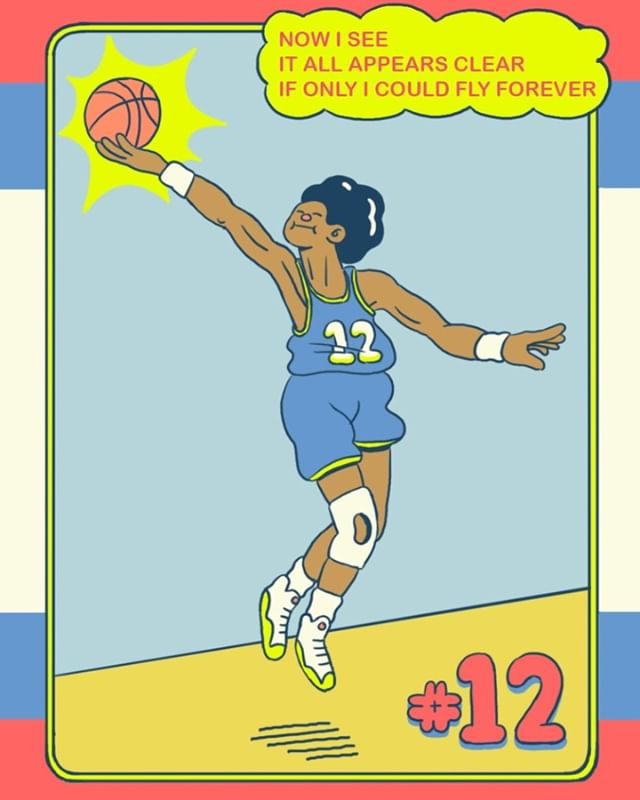 Basketball cards 12/12 Gonna try to make these into real cards I think. This one's for all my #ballers