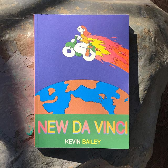 NEW DA VINCI is up in my shop!! 🌼  108 pages full color including risograph endpapers and more!  Printed by @jumbopress  LINK IN BIO🏄♂️ If you know me, live close, and dont wanna pay shipping, you can dm me and i can just bring the book when i see ya🙂