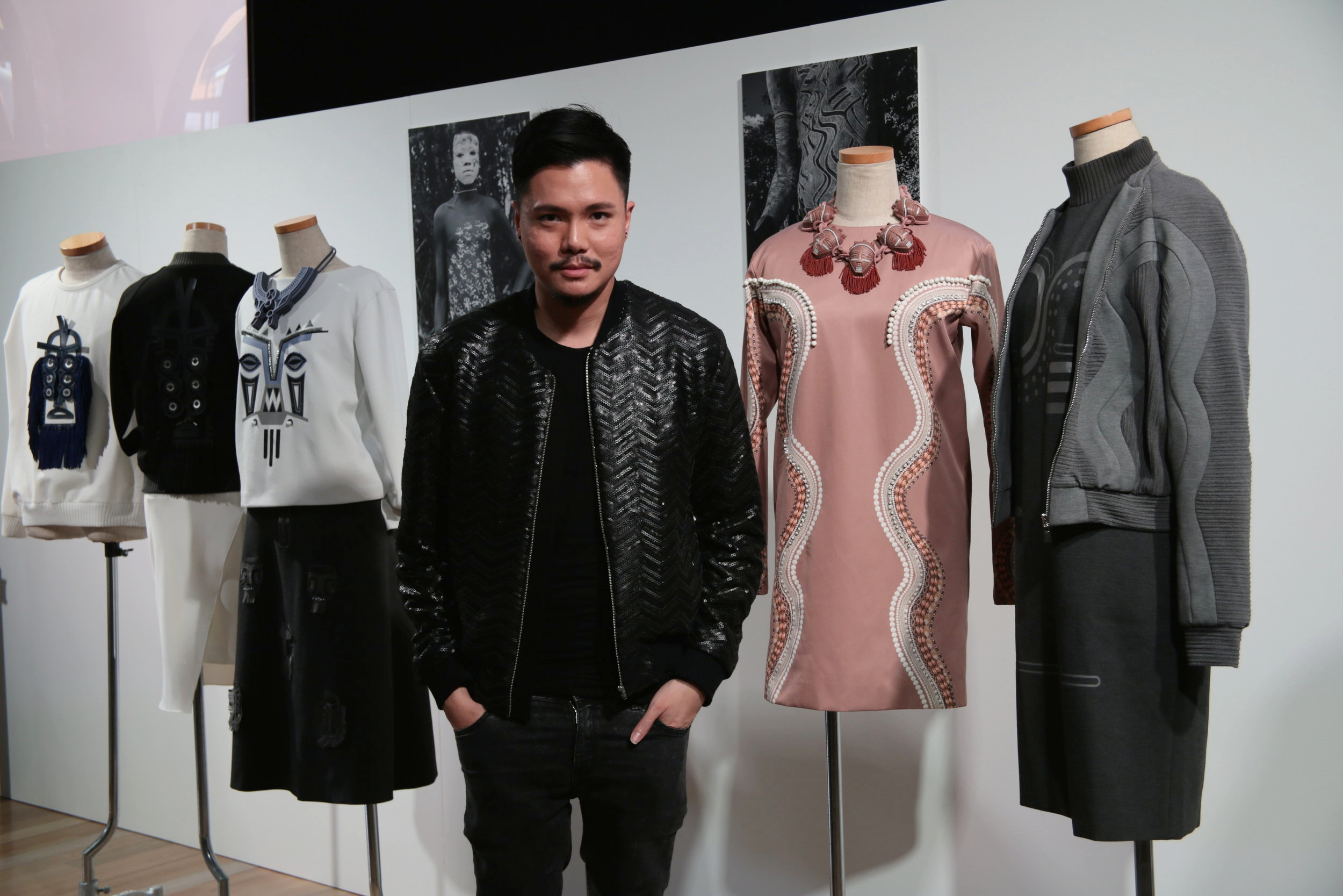 Curated by Ek Thongprasert AW15 Presentation at Tokyo Fashion Week
