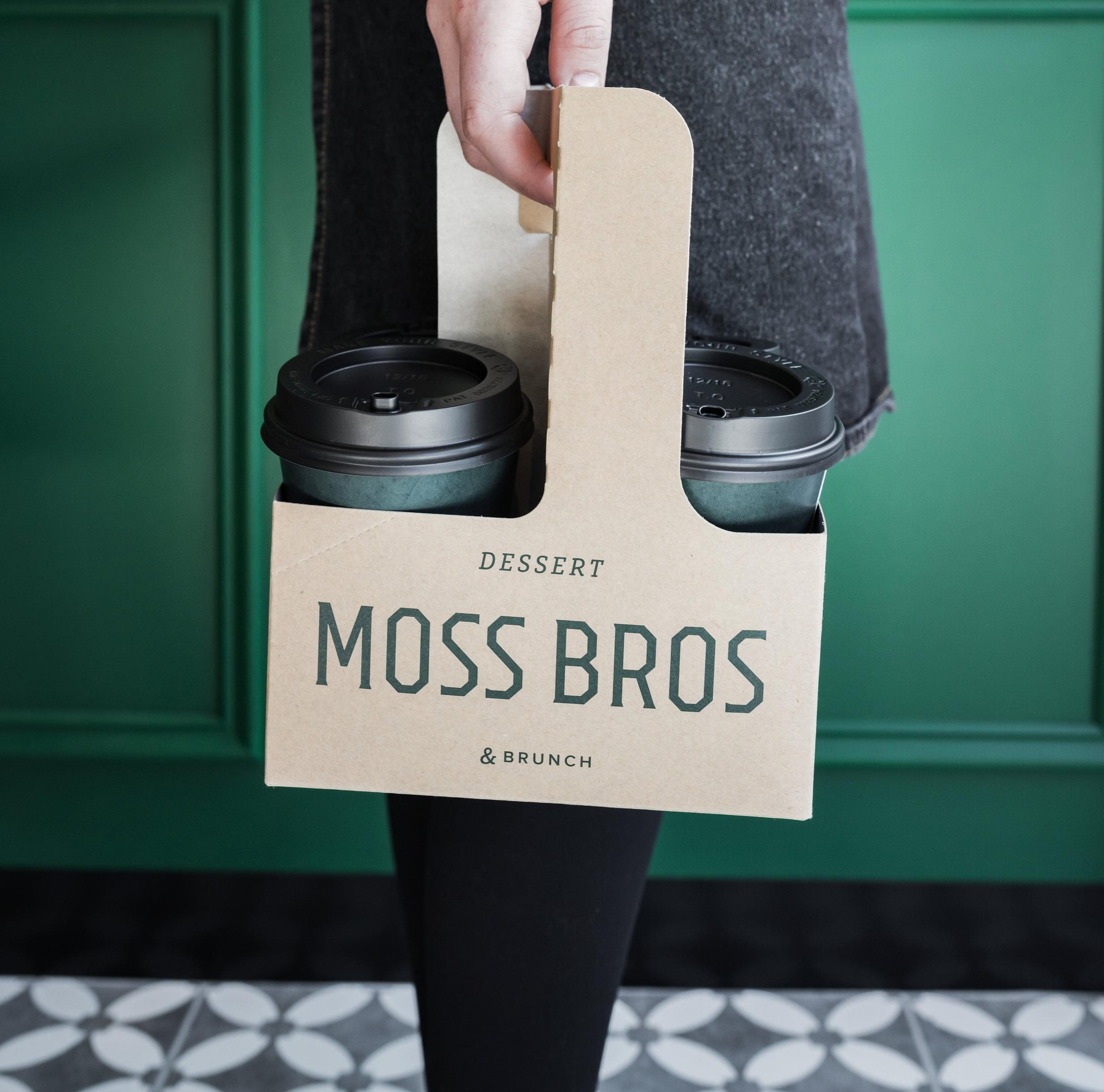 MOSS BROS    Interior Design, Branding