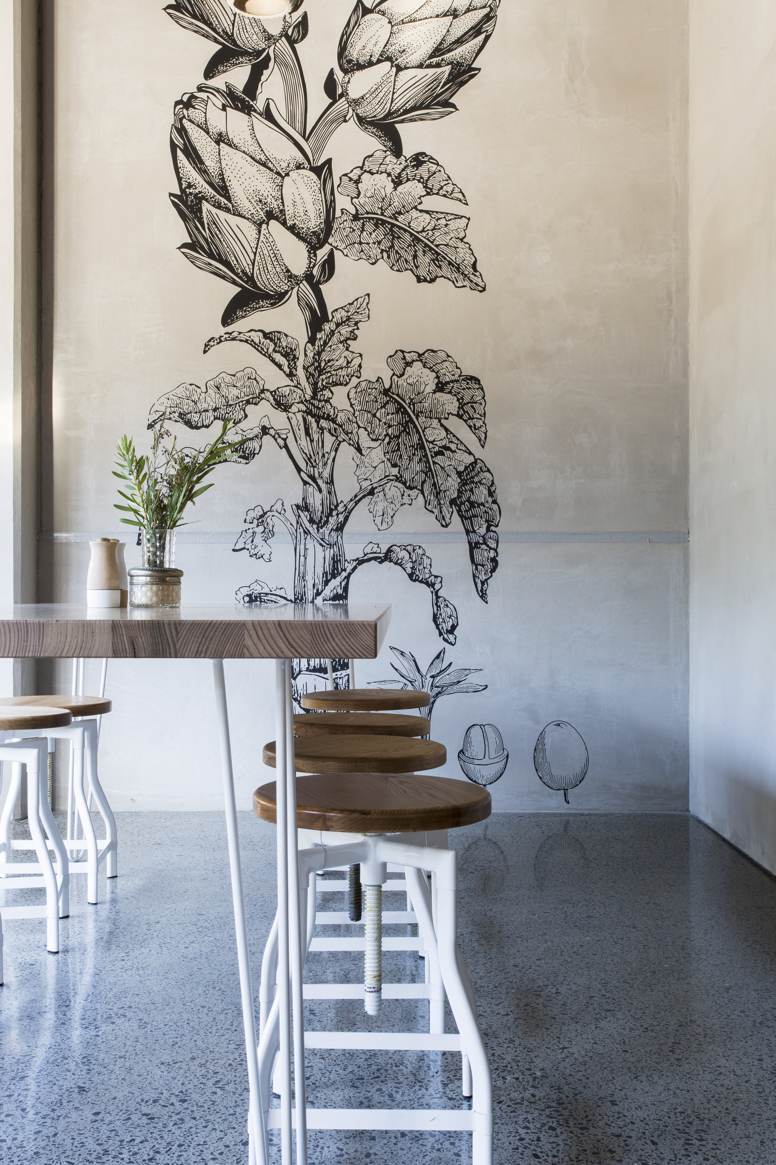 THE PRIORY    Interior Design, Branding, Custom Artwork