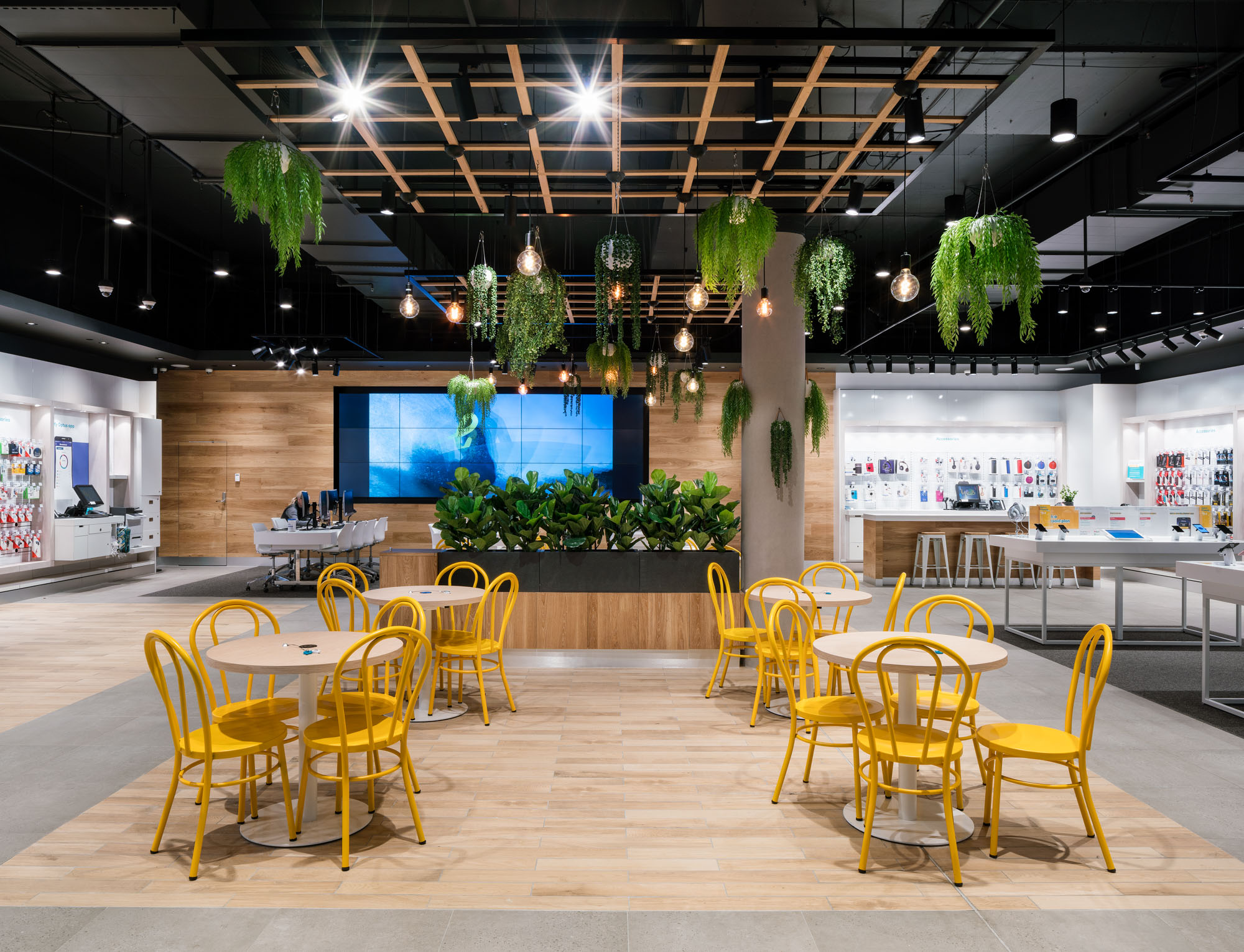 optus chermside  INTERIOR DESIGN, ROLL OUT STRATEGY