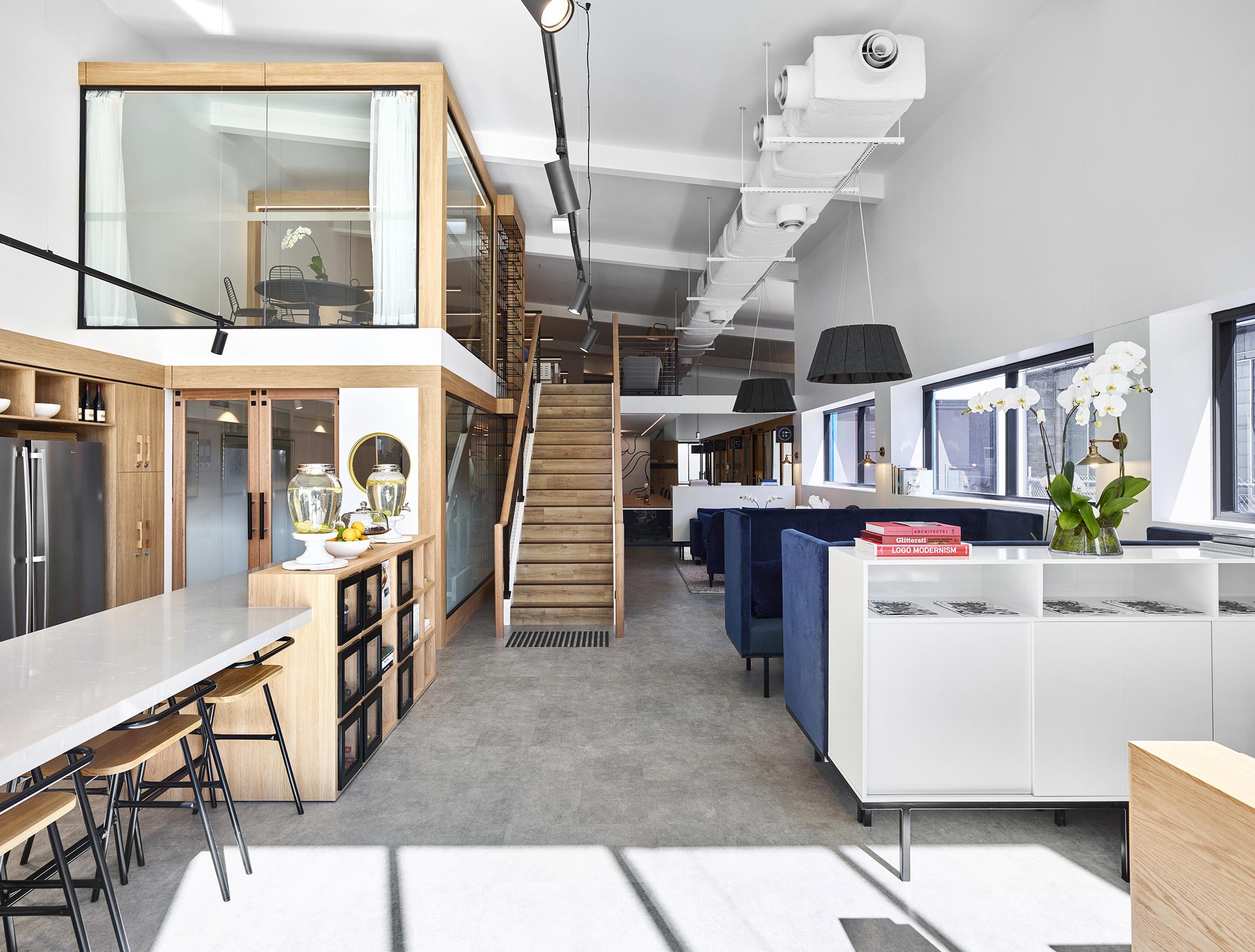 Cove Co-Work Reception - Collectivus Interior Design